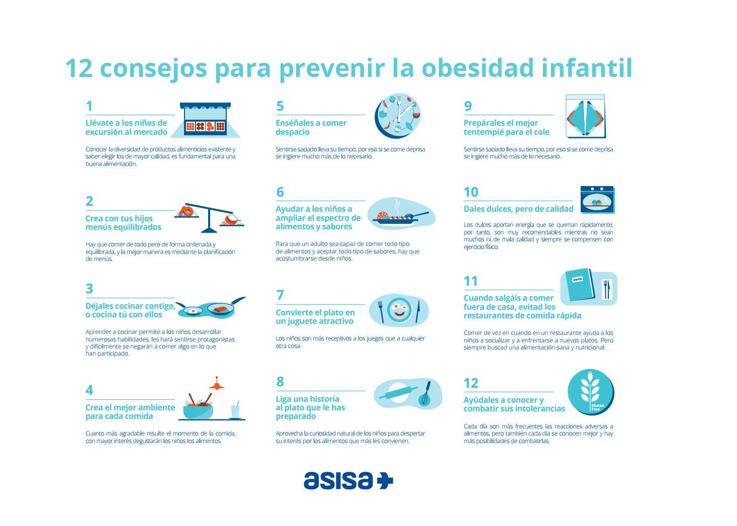 medidas de prevencion para evitar la obesidad