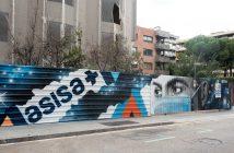 graffiti ASISA Barcelona