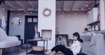 ambiente relajante en casa